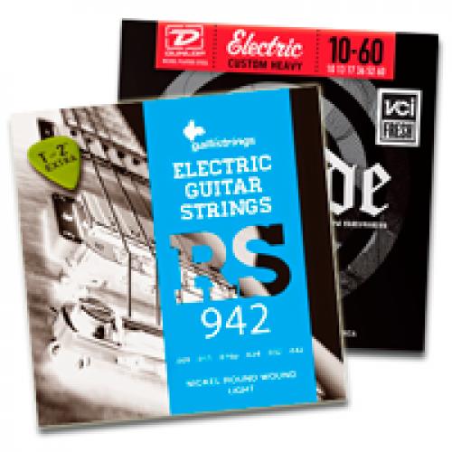Струни для електрогітар