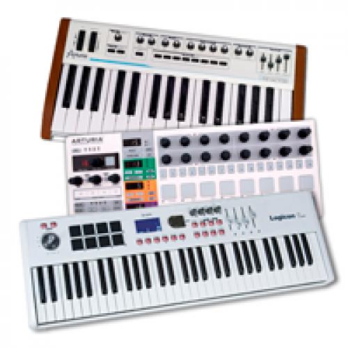 MIDI-клавіатури, контролери і ПЗ