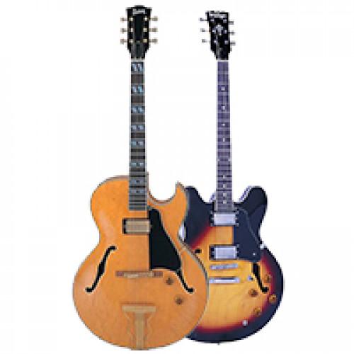 Напівакустичні гітари