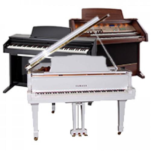 Фортепіано, роялі, клавесини, органи