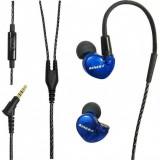 Вакуумні навушники з мікрофоном Kinera BD005 Blue