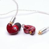Вакуумні навушники з мікрофоном Kinera BD005 Red