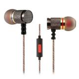 Вакуумні навушники з мікрофоном Knowledge Zenith EDR1 Silver mic