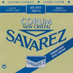 Струни для класичної гітари Savarez 500 CJ High Tension
