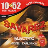 Струни для електрогітари Savarez X50 LMW Light Tension
