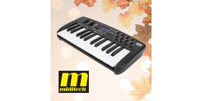 MIDI-клавіатури Miditech – час купити