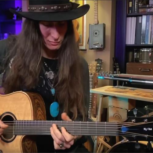 Youtube-музыкант Джастин Джонсон ошеломлен гитарой Lag HyVibe