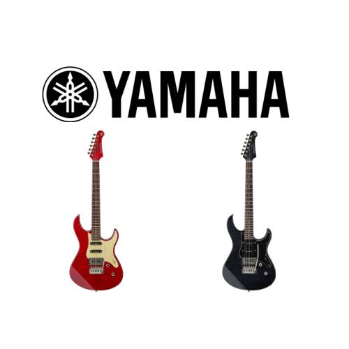 New premium line of electric guitars Yamaha Pacifica 612 VII!