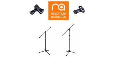 Мікрофонні стійки Maximum Acoustics