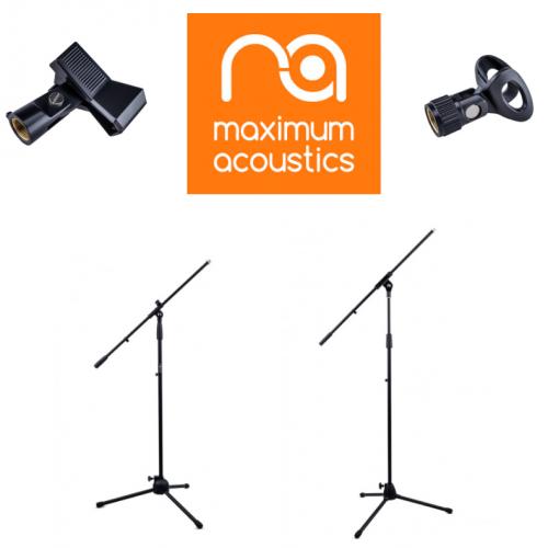 Microphone Stands Maximum Acoustics