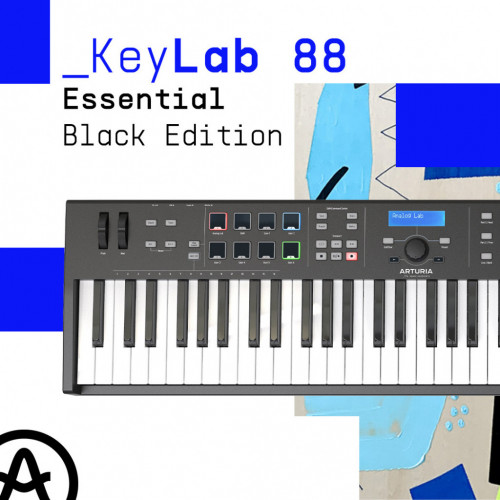 Нова чорна версія Arturia KeyLab Essential 88