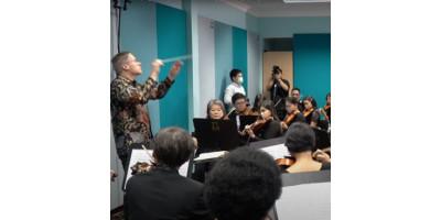 Запис репетиції оркестру зі стереопарою LCT 040 MATCH від Lewitt