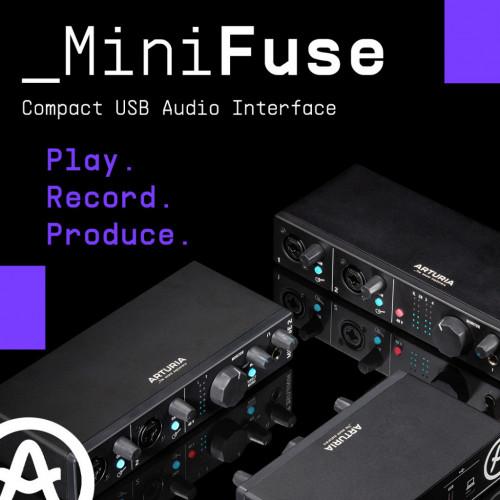 Представляємо асортимент MiniFuse: Грайте. Записуйте. Програвайте.