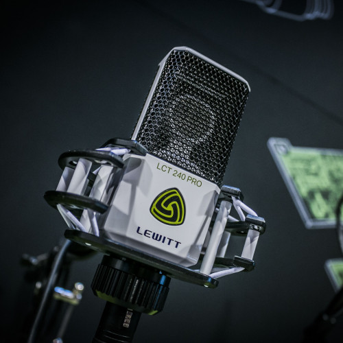 New arrivals of Lewitt microphones: we have something to surprise you!