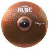 Тарілка для барабанів Paiste RUDE Wild Crash 17