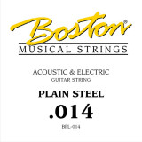 String for acoustic or electric guitar Boston BPL-014