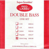 Contrabass Strings Super-Sensitive Red Label SS8108 (Extra Long)