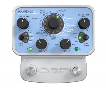 Бас-гітарна педаль ефектів Source Audio SA221 Soundblox 2 Multiwave Bass Distortion
