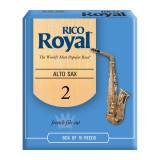 Тростини для альт-саксофона Rico Royal (набір 10 шт.) #2.0