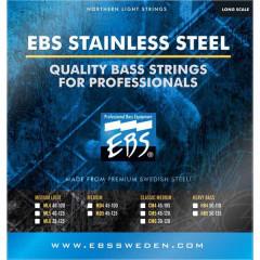Струни для бас-гітари EBS SS-CM 4-strings (45-105) Stainless Steel