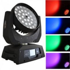 Світлодіодна LED-голова STLS ST-3618 zoom RGBWA+UV 6in1