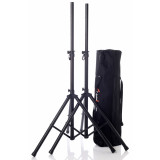 Pair of Speaker Stands Bespeco SH80NP