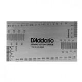Лінійка для вимірювання висоти струн на грифі D'Addario PW-SHG-01 String Height Gauge