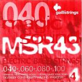Струни для бас-гітари Galli Magic Sound MSR43 (40-100) Stainless Steel Regular