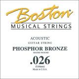 Струна для акустичної гітари Boston BPH-026
