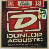 Strings for acoustic guitars Dunlop DAB1356, a set of 13-56, bronze 80/20