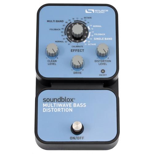 Бас-гітарна педаль ефектів Source Audio SA125 Soundblox Multiwave Bass Distortion