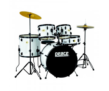 Drumset Peace Prodigy DP-109CH-22 White