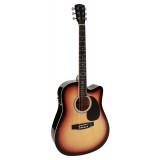 Електроакустична гітара Nashville GSD-60-CE (Sunburst)