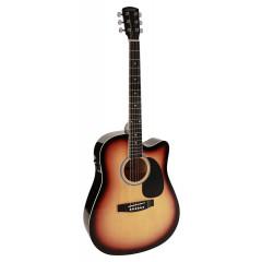 Електроакустична гітара Nashville (by Richwood) GSD-60-CE (Sunburst)