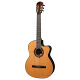 Electric Acoustic Guitar with nylon strings Lag Occitania OC300CE