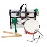 Percussion set: 1 triangle, 6