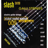 Струни для електрогітари Galli Slash SH190 (09-42) Extra Light