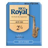 Тростини для альт-саксофона Rico Royal (набір 10 шт.) #2.5