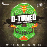 Струны для электрогитары Galli D-Tuned D710 7 Strings Guitar