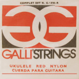 Ukulele Strings Galli G216 G216R - Red