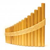 Пан-флейта Hora Panpipe 15 acacia/maple Alto  Клен