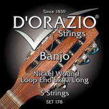 Banjo Strings D'orazio SET-178