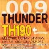 Струни для електрогітари Galli Thunder Hunter TH190 (09-42) Extra Light