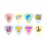 Медіатори в наборі D'Andrea PL-MD Peace & Love Medium/72 шт