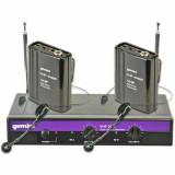 Dual-Channel Wireless System Gemini VHF-2001HL