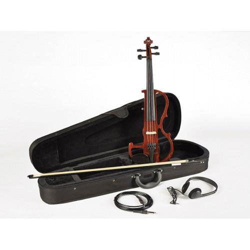 Електро скрипка Leonardo EV-50-W
