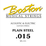 String for acoustic or electric guitar Boston BPL-015