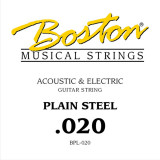 String for acoustic or electric guitar Boston BPL-020