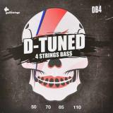Струни для бас-гітари Galli D-Tuned DB-4