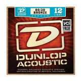 Strings for acoustic guitars Dunlop DAB1254, set of 12 to 54, bronze 80/20
